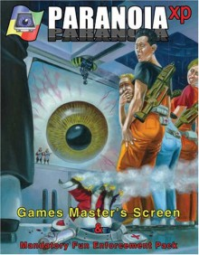 Paranoia Xp Games Master's Screen & Mandatory Fun Enforcement Pack - Allen Varney