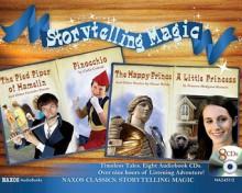 Storytelling Magic: The Pied Piper of Hamelin; Pinocchio; The Happy Prince; A Little Princess - Frances Hodgson Burnett, Oscar Wilde, Carlo Collodi