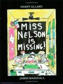 Miss Nelson is Missing! Book & CD - Harry Allard, James Marshall
