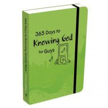 365 Days to Knowing God-Guys - Carolyn Larsen