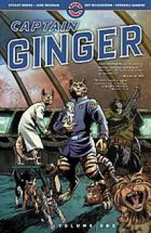 Captain Ginger, Volume 1 - Stuart Moore, John Richardson, June Brigman, Veronica Gandini