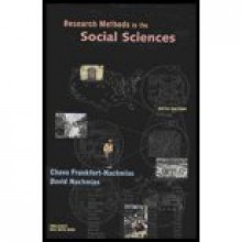 Research Methods in the Social Sciences - Textbook Only - David Nachmias