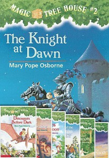 Magic Treehouse #1-8 Paperback Book Set Includes Dinosaurs Before Dark, the Knight At Dawn, Mummies in the Morning; Pirates Past Noon, Night of the Ninjas; Afternoon on the Amazon; Sunset of the Sabertooth & Midnight on the Moon Tree House Books - mary pope osborne