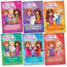 Secret Kingdom Pack, 6 books, RRP £29.94 (Enchanted Palace; Unicorn Valley; Cloud Island; Mermaid Reef; Magic Mountain; Glitter Beach). - Rosie Banks