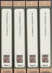 The Symphonies of Beethoven, Parts I - IV (The Great Courses) (32 Lectures on 16 tapes) - Professor Robert Greenberg, The San Francisco Conservatory of Music, The Teaching Company