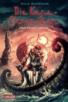Der Feuerthron - Rick Riordan, Claudia May