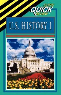 U.S. History I (Cliffs Quick Review) - CliffsNotes, Abraham Hoffman