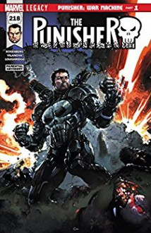 The Punisher (2016-) #218 - Guiu Vilanova, Matthew T. Rosenberg, Clayton Crain