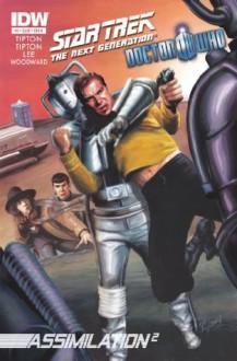 Star Trek TNG/Doctor Who: Assimilation #3 - Scott Tipton, David Tipton, Tony Lee, J.K. Woodward, Elena Casagrande