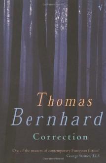 Correction - Thomas Bernhard