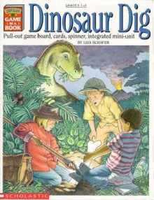 Dinosaur Dig: Cooperative Game In A Book - Vincent Ceci, Tedd Arnold, Patricia Wynne, Jacqueline Swensen