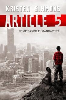 Article 5 - Kristen Simmons