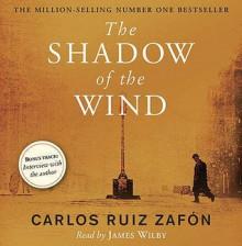 The Shadow Of The Wind - Carlos Ruiz Zafón, James Wilby