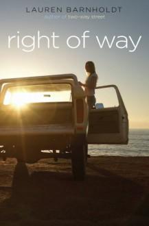 Right of Way - Lauren Barnholdt