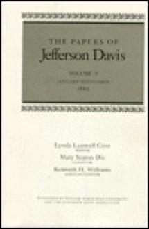 Papers of Jefferson Davis Vol 9 - Jefferson Davis, Lynda L. Crist, Mary S. Dix, Kenneth H. Williams