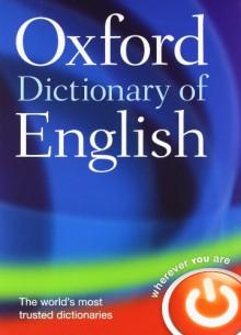 Oxford Dictionary of English - Angus Stevenson