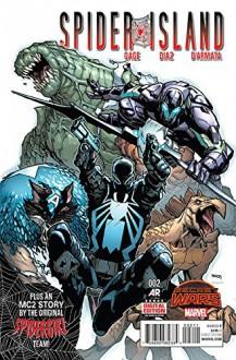 Spider-Island #2 - Christos N. Gage