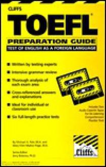 TOEFL Preparation Guide, with Cassette - CliffsNotes, William A. Covino