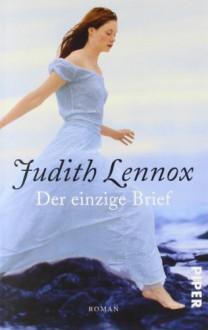 Der einzige Brief - Mechtild Sandberg, Judith Lennox