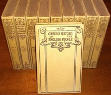 A History of the English People (Ten Volumes) - J.R. Green
