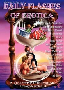 Daily Flashes of Erotica Quarterly (January - March 2011) - Shauni Barencourte, Iain Pattison, Susan Breeden, Eden Royce, Stephanie L. Morrell, Indy McDaniel