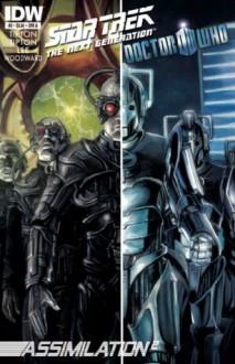 Star Trek TNG/Doctor Who: Assimilation #2 - Scott Tipton, David Tipton, Tony Lee, J.K. Woodward, Mark Buckingham
