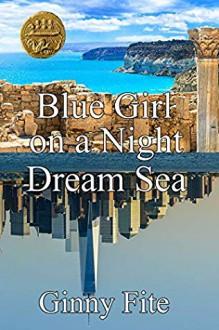 Blue Girl on a Night Dream Sea - Ginny Fite