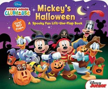 By Disney Book Group - Mickey Mouse Clubhouse Mickey's Halloween (Ina Ltf Br) (2015-08-12) [Board book] - Disney Book Group