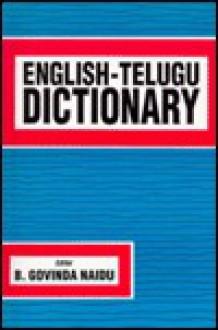 English-Telugu Standard Dictionary: Spoken in Southeastern India - Hippocrene Books