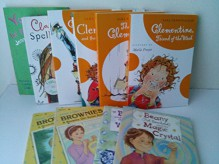 Series Mix for Girls: Clarice Bean Spells Trouble; You Must Be Joking Jenny; the Talented Clementine; Clementine Friend of the Week; Here Come the Brownies; Beanie and the Magic Crystal; Beanie and the Drenched Wedding (Book Sets for Kids : 3rd Grade - 4t - Sara Penny Packer, Jenny Oldfield