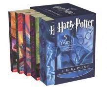 Harry Potter Boxed Set Books 1-5 - Mary GrandPré, J.K. Rowling