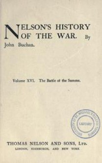Nelson's History of the War - John Buchan