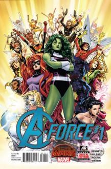 A-Force #1 - Marguerite Bennett,Jorge Molina,G. Willow Wilson,Craig Yeung