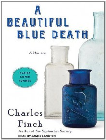 A Beautiful Blue Death - Charles Finch, James Langton