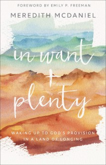 In Want + Plenty: Waking Up to God's Provision in a Land of Longing - McDaniel, Meredith