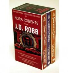 Multi-book Set: Audio #1: Naked in Death / Glory in Death / Immortal in Death - Susan Ericksen, J.D. Robb