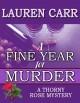 A Fine Year for Murder - Lauren Carr