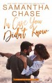 In Case You Didn't Know (Magnolia Sound #3) - Samantha Chase
