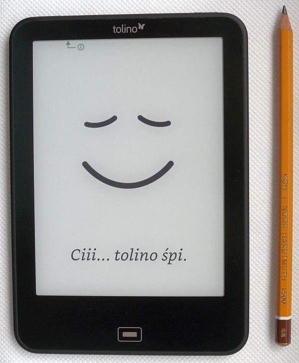 Polski wygaszacz ekranu (screensaver) w Tolino Vision 2