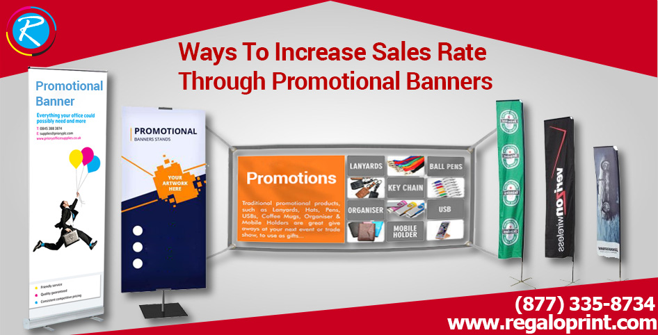 Promotional Banners For Increase Sales