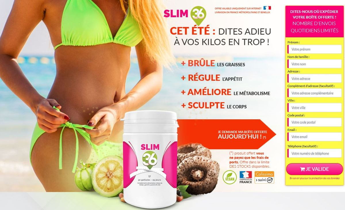 Slim 36 Avis - Slim 36